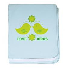 Love Birds baby blanket