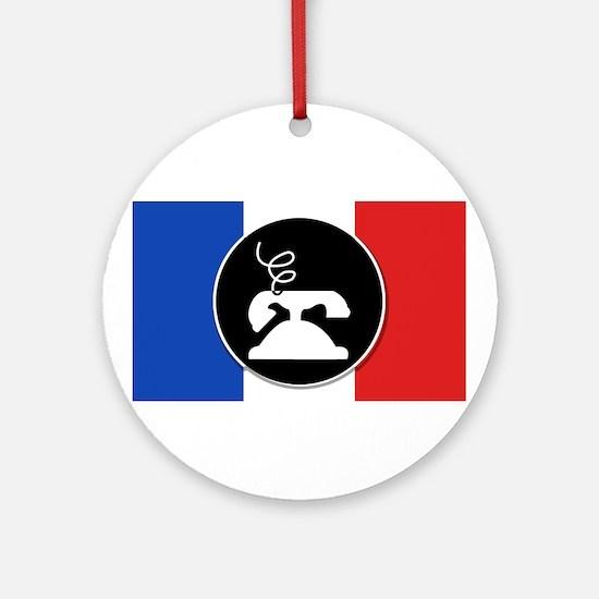 Francophone Ornament (Round)