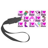 Hair stylist Luggage Tags