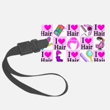 LOVE HAIR Luggage Tag