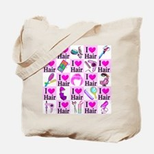 LOVE HAIR Tote Bag
