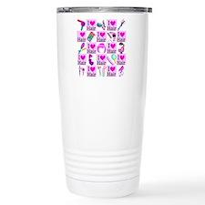 LOVE HAIR Travel Mug