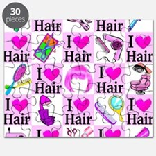 LOVE HAIR Puzzle