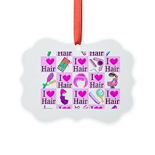 LOVE HAIR Ornament