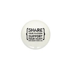 Share Your Passion Logo Mini Button (100 pack)