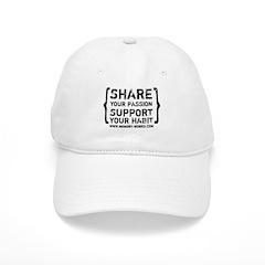 Share Your Passion Logo Baseball Cap