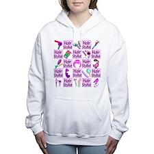 SUPER HAIR STYLIST Women's Hooded Sweatshirt