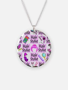 SUPER HAIR STYLIST Necklace