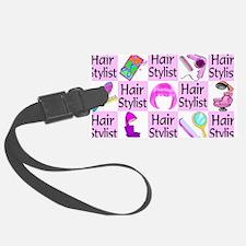 SUPER HAIR STYLIST Luggage Tag