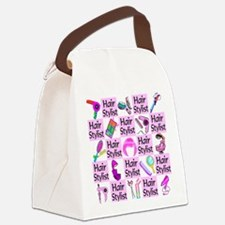 SUPER HAIR STYLIST Canvas Lunch Bag