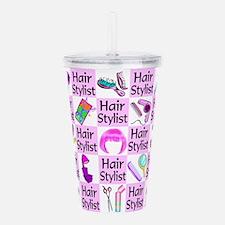 SUPER HAIR STYLIST Acrylic Double-wall Tumbler