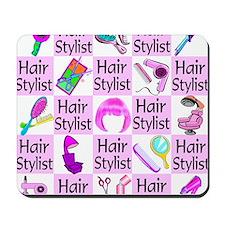 SUPER HAIR STYLIST Mousepad