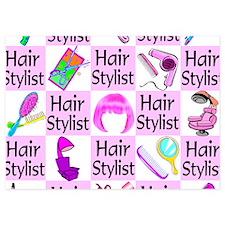 SUPER HAIR STYLIST 5x7 Flat Cards