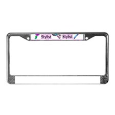 SUPER HAIR STYLIST License Plate Frame