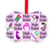 SUPER HAIR STYLIST Ornament