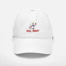 Grill Addict Baseball Baseball Cap