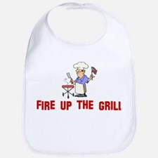 Fire up the Grill Bib
