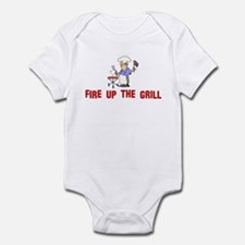 Fire up the Grill Infant Bodysuit