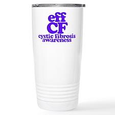 Eff Cystic Fibrosis - CF Awareness Travel Mug
