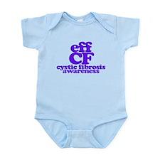 Eff Cystic Fibrosis - CF Awareness Body Suit