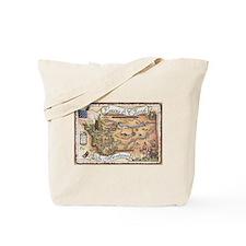Lewis & Clark in Montana Tote Bag