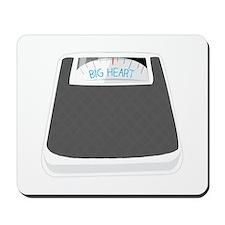 Big Heart Mousepad