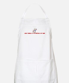 Cows tremble at the mention o BBQ Apron