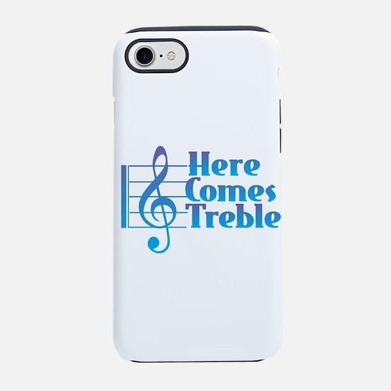 Here Comes Treble iPhone 7 Tough Case