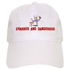 Charred and Dangerous Baseball Cap