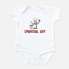 Charcoal Guy Infant Bodysuit