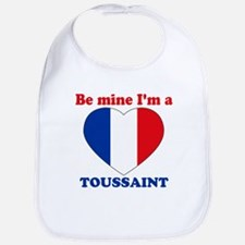 Toussaint, Valentine's Day Bib