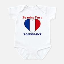 Toussaint, Valentine's Day Infant Bodysuit