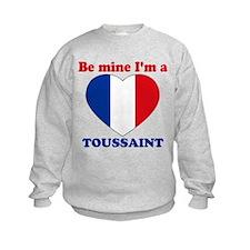 Toussaint, Valentine's Day Sweatshirt