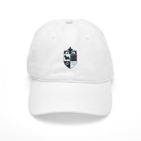 Blue Westie Crest Cap