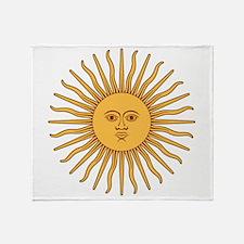 Sol De Mayo Throw Blanket