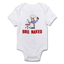 BBQ Naked Infant Bodysuit