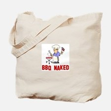 BBQ Naked Tote Bag