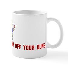 BBQ Naked and show off your b Mug