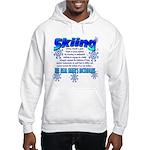 Skier's Dictionary Hooded Sweatshirt