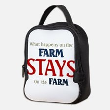 What happens on the farm stays on the farm Neopren