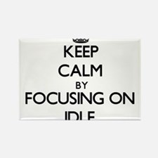 Keep Calm by focusing on Idle Magnets