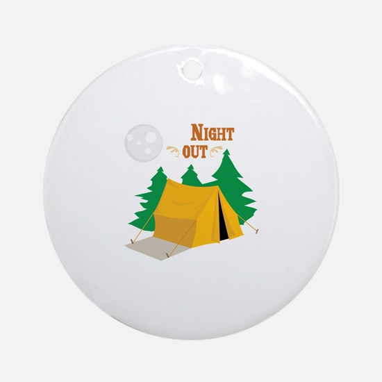 Night Out Ornament (Round)