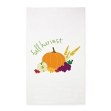 Fall Harvest 3'x5' Area Rug