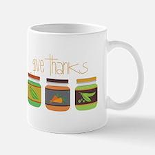 Give Thanks Mugs