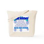 Ski Dictionary Tote Bag