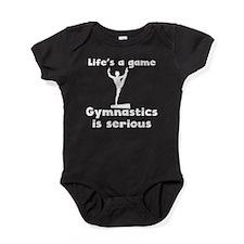 Gymnastics Is Serious Baby Bodysuit