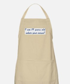 What is your excuse: 19 BBQ Apron
