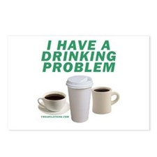 Drinking Problem Postcards (Package of 8)