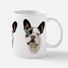 French Bulldog BW Bust Mug