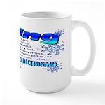 Skier's Dictionary Large Mug